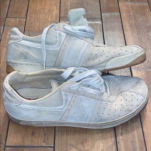 Men's Diesel Sneakers Sz 11 Well Loved in Gray/Tan
